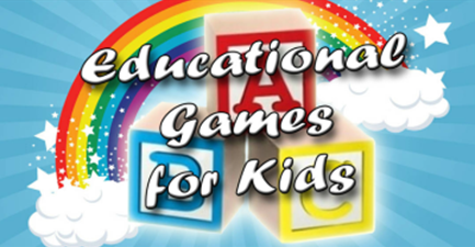 Start page of Game 1 of Educational games app