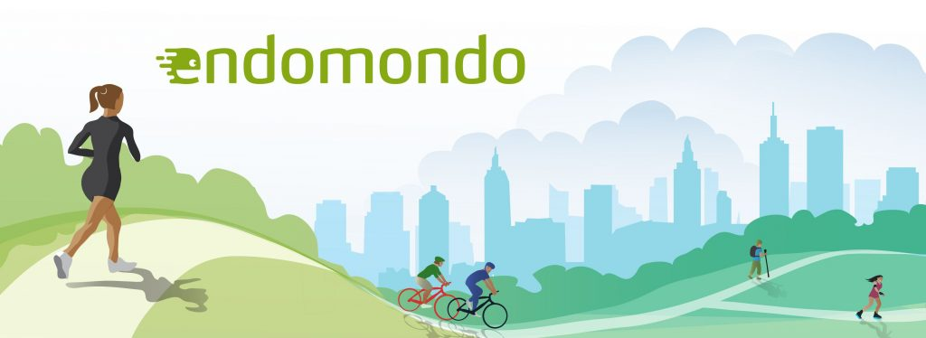 endomondo APP promotional image
