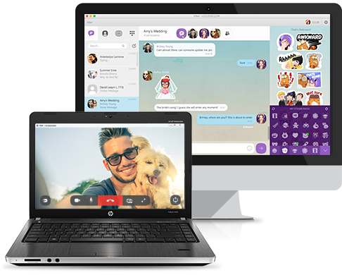 VIBER ON PC OR TABLET