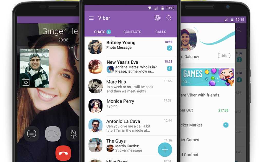 VIBER MOBILE SCREENSHOTS