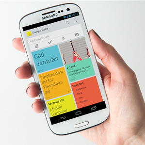 Google Keep app mobile