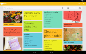 Google Keep app desktop
