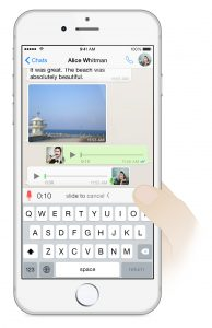 Whatsapp in use